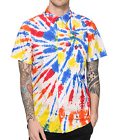 Empyre 1969 Tie Dye Button Up Shirt