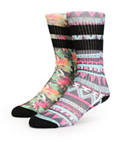 Empyre 2 Pack Long Island Subliamted Crew Socks