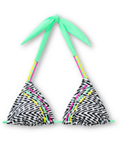 Empyre A To Z Triangle Bikini Top