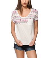 Empyre Abbott Tribal Block Dolman T-Shirt