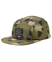 Empyre Adored Cheetah Print 5 Panel Hat