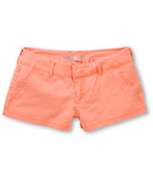 Empyre Arcadia Washed Coral Chino Shorts