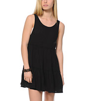 Empyre Aria Black Babydoll Dress