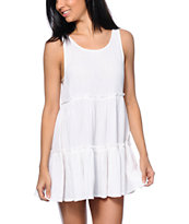 Empyre Aria White Babydoll Dress