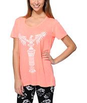 Empyre Aryannah Totem Coral T-Shirt