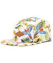 Empyre Bird Brain White 5 Panel Hat