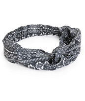 Empyre Black Tribal Chiffon Headband