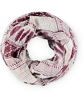 Empyre Blackberry Feather Infinity Scarf