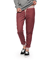 Empyre Blackberry Speckle Banded Jogger Pants