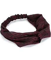 Empyre Blackberry Tribal Chiffon Headband