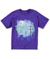 Empyre Boys Night Lights Purple Tee Shirt