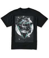 Empyre Boys Raven Moon Black Tee Shirt