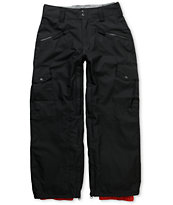 Empyre Boys Sentinal Black 10K Snowboard Pants