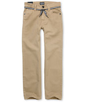 Empyre Boys Skeletor Khaki Twill Pants