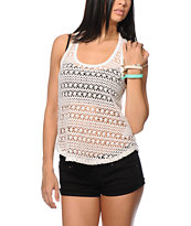 Empyre Braided Crochet Tank Top