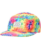 Empyre Breezy Tie Dye 5 Panel Hat