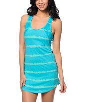 Empyre Brittany Jade Tie Dye Crochet Tank Dress