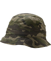 Empyre Buckethead Reversible Woodland Camo Bucket Hat