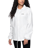 Empyre Candace Cool White Coaches Jacket