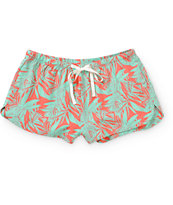 Empyre Carmela Tropical Print Shorts