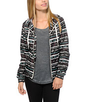 Empyre Carmen Multi Tribal Windbreaker Jacket