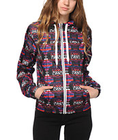 Empyre Carmen Multicolor Tribal Windbreaker Jacket