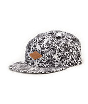 Empyre Carnival Black & White 5 Panel Hat