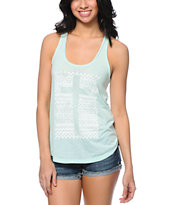 Empyre Casey Cross Mint Tank Top