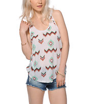 Empyre Casey Dusty Chevron Tank Top