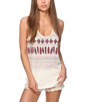 Empyre Casey Feather Stripe Tank Top