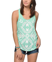 Empyre Casey Tribal & Stripe Tank Top