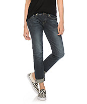 Empyre Cecily Jacquard Tape Skinny Jeans