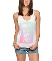 Empyre Celia Don't Kill My Vibe Tribal Tank Top