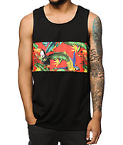 Empyre Chad Tropical Mesh Tank Top