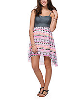 Empyre Cherie Tribal High Low Dress