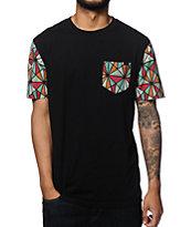 Empyre Cod Geo Print Pocket T-Shirt