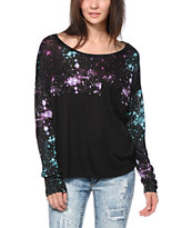 Empyre Corey Galaxy Print Top