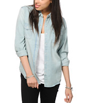 Empyre Cortland Light Denim Long Sleeve Shirt