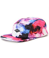 Empyre Cosmos Pink Galaxy Print 5 Panel Hat