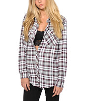 Empyre Courtland Blackberry Flannel Shirt