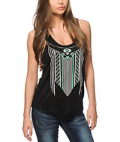 Empyre Dalton Tribal Black Tank Top