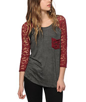 Empyre Dana Lace Pocket Top