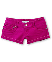 Empyre Dani Fuchsia Denim Shorts