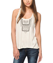 Empyre Della Embroidered Tank Top