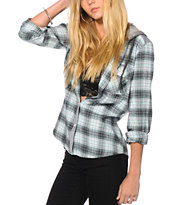 Empyre Devon Mint Flannel Shirt