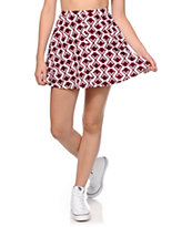 Empyre Dixie Fig Geo Skater Skirt