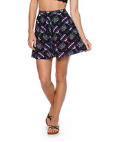 Empyre Dixie Pastel Tribal Skater Skirt
