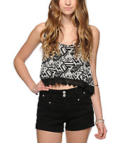 Empyre Donato Tribal Crop Tank Top