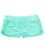 Empyre Dorea Mint Crochet Board Shorts