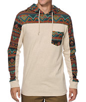 Empyre Down Under Tribal Hooded Pocket Shirt